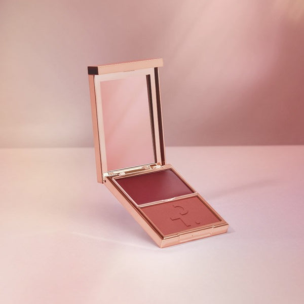 PATRICK TA Major Headlines - Double-Take Cream + Powder Blush Duo - Oh She's Different