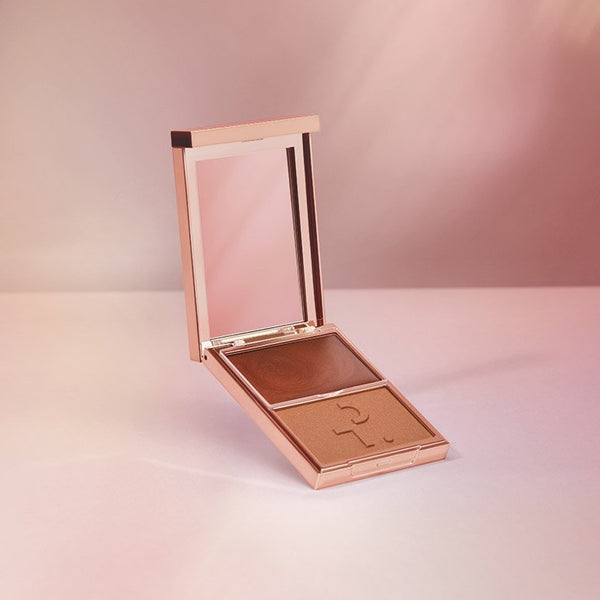 PATRICK TA Major Headlines - Double-Take Cream + Powder Blush Duo - She's So LA