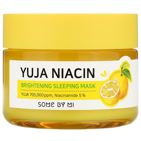 Some By Mi, Yuja Niacin, Brightening Sleeping Mask, 2.11 Oz (60 G)