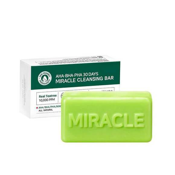 Some By Mi, Aha. Bha. Pha 30 Days Miracle Cleansing Bar, 106 G