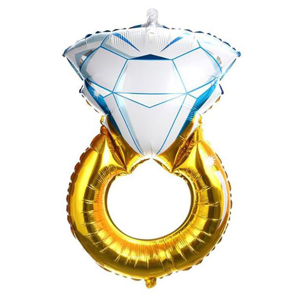 Wedding Ring Foil Balloon