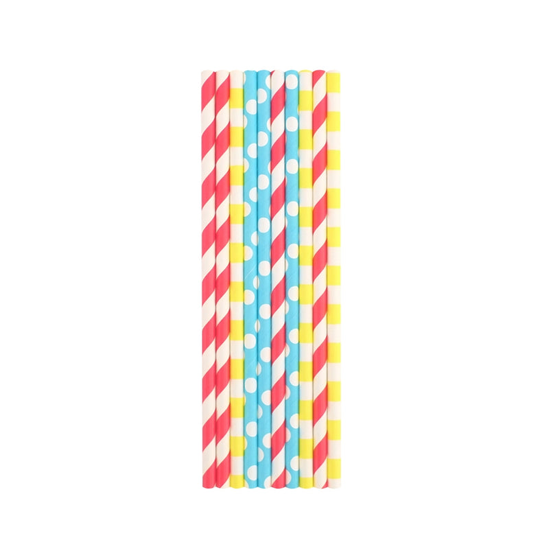 Hopping & Popping Straws ( 50 Pack )