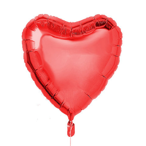 Big Heart Foil Balloon - Red