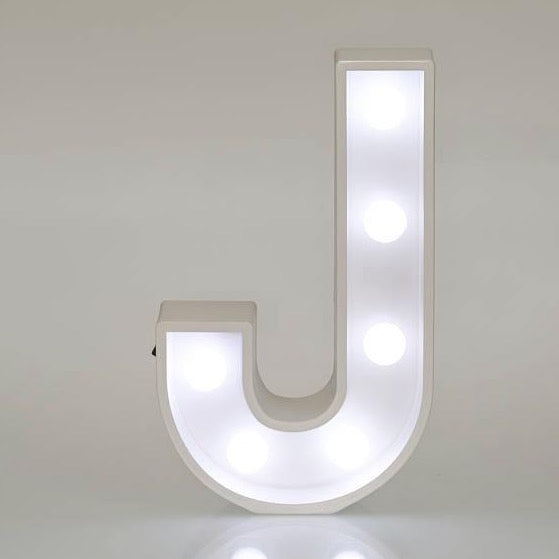 Light Up Letters & Symbols - J