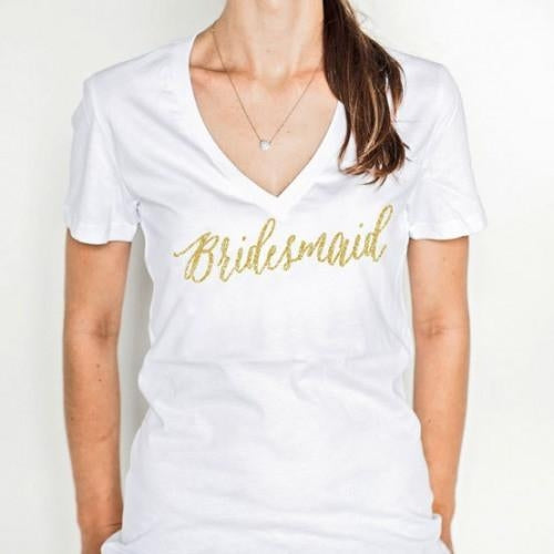 Bridal Party T-Shirt - Bridesmaid