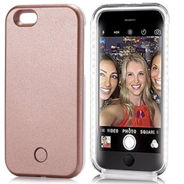 Led Light Up Selfie Case For Apple Iphone 6S (Champagne)
