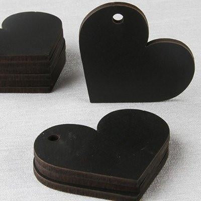 Chalkboard Shape Tags ( Heart )