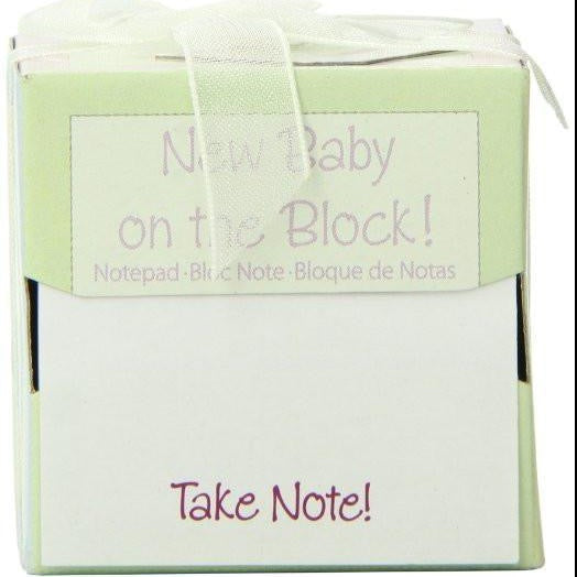 Kate Aspen New Baby On The Block Sticky Notes ( Pack Of 12 )