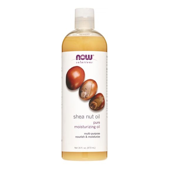 Now Foods - Shea Nut Oil, Pure Moisturizing Oil, 16 Fl Oz (473 Ml)