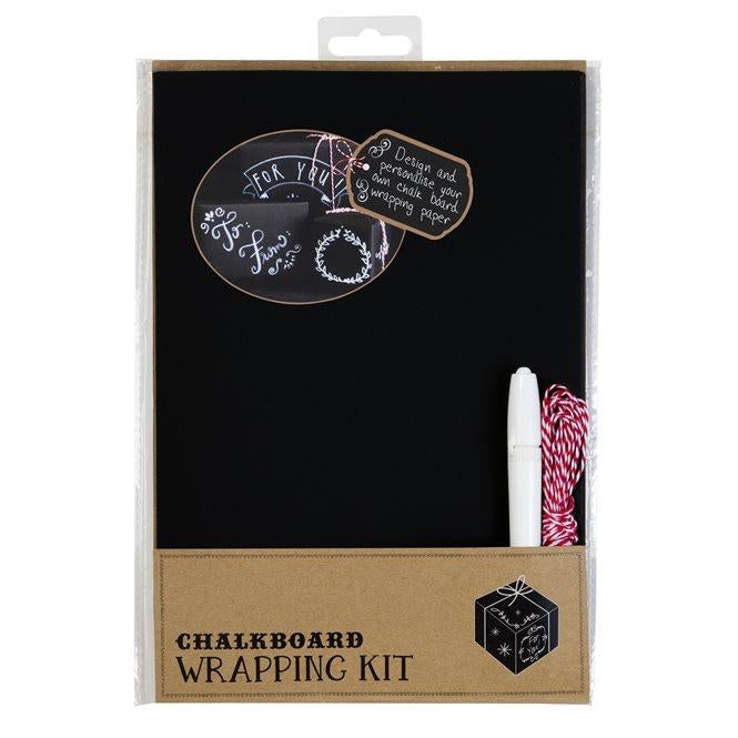 Chalkboard Wrapping Kit - Black
