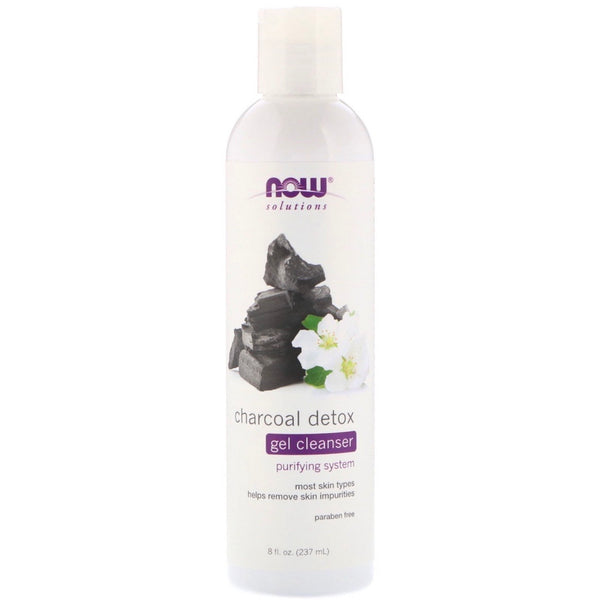 Now Foods Charcoal Detox Gel Cleanser 237ml