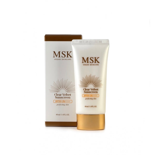 MSK velvet sunscreen with spf50+