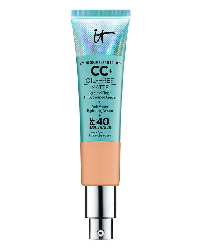 It Cosmetics- Your Skin But Better Cc+ Oil-Free Matte With Spf 40 Neutral Tan( 32Ml )