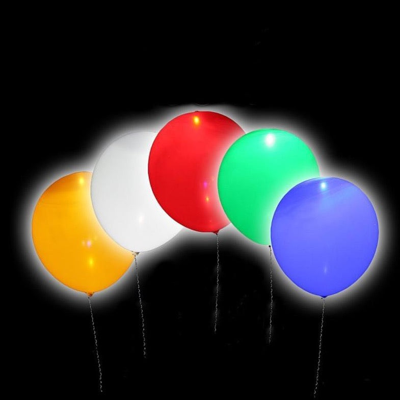 Led Light Balloon - 5 Pieces