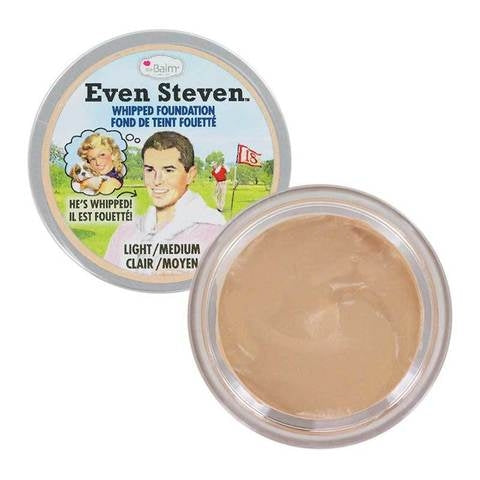 The Balm Even Steven Whipped Foundation - Light/Medium