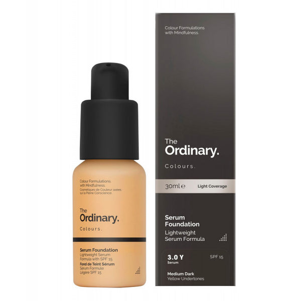 The Ordinary Serum Foundation ( 30Ml ) - 3.0 Y Medium Dark
