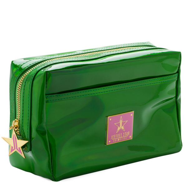 Jeffree Star Cosmetics Makeup Bag-Holographic Alien Green