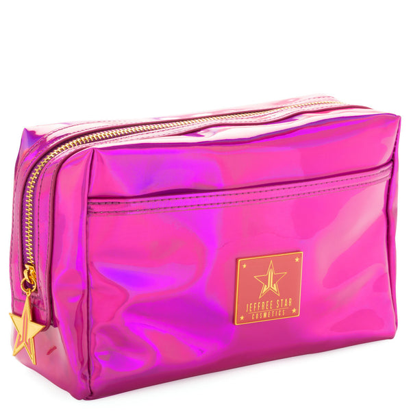 Jeffree Star Cosmetics Makeup Bag- Holographic Purple