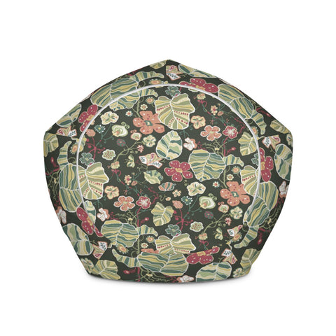 Flower Bean Bag Chair Cover