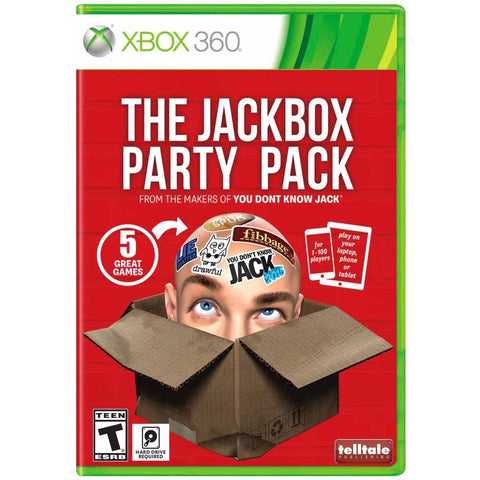 The Jack Box Party Pack Video Game for XBOX 360