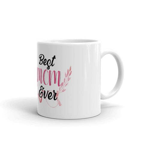 Little Bumper 11oz Best Mom Ever White glossy mug