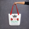 "Little Bumper Accessories ""Egg Hunt Queen"" Tote Bag"