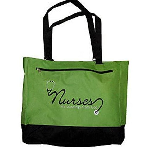 "Little Bumper Accessories ""Nurses Are A Blessing"" Tote Bag"