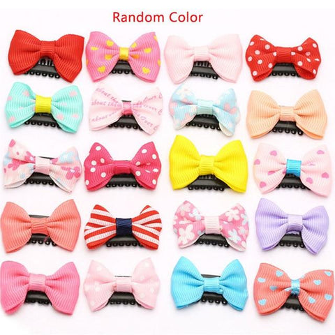 Image of Little Bumper Baby Accessories 10 Pcs Random / United States Baby Girls Scarce Hair Clips 10Pcs/Pack
