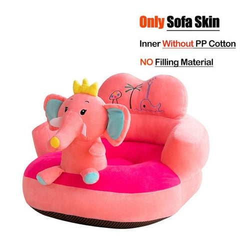 Image of Little Bumper Baby Accessories United States / Cover 04 Baby Sofa Support Seat Cover Plush Chair