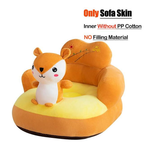 Image of Little Bumper Baby Accessories United States / Cover 06 Baby Sofa Support Seat Cover Plush Chair