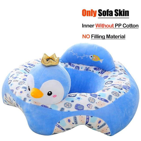 Image of Little Bumper Baby Accessories United States / Cover 18 Baby Sofa Support Seat Cover Plush Chair