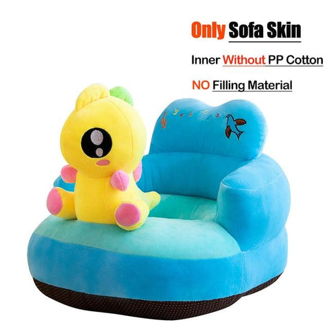 Image of Little Bumper Baby Accessories United States / Cover 21 Baby Sofa Support Seat Cover Plush Chair