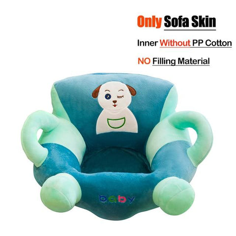 Image of Little Bumper Baby Accessories United States / Cover 30 Baby Sofa Support Seat Cover Plush Chair
