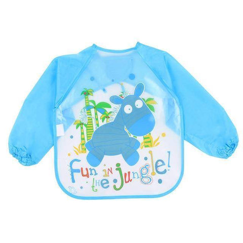 Image of Little Bumper Baby Bibs 1 / United States / 40x36cm Waterproof Colorful Baby Bibs with Full Sleeves