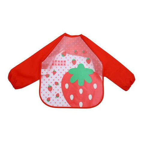 Image of Little Bumper Baby Bibs 10 / United States / 40x36cm Waterproof Colorful Baby Bibs with Full Sleeves