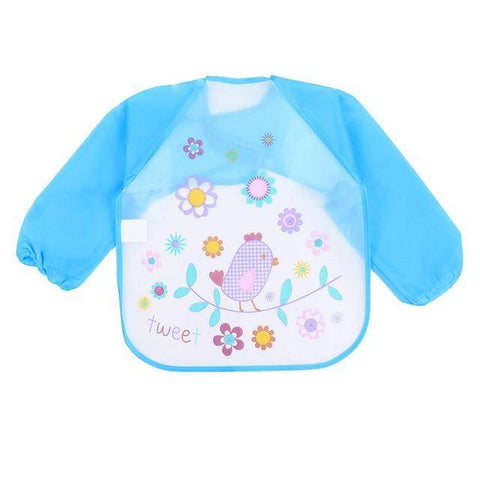 Image of Little Bumper Baby Bibs 13 / United States / 40x36cm Waterproof Colorful Baby Bibs with Full Sleeves