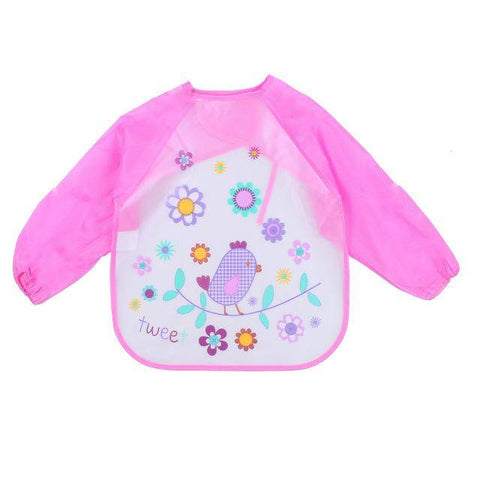 Little Bumper Baby Bibs 14 / United States / 40x36cm Waterproof Colorful Baby Bibs with Full Sleeves