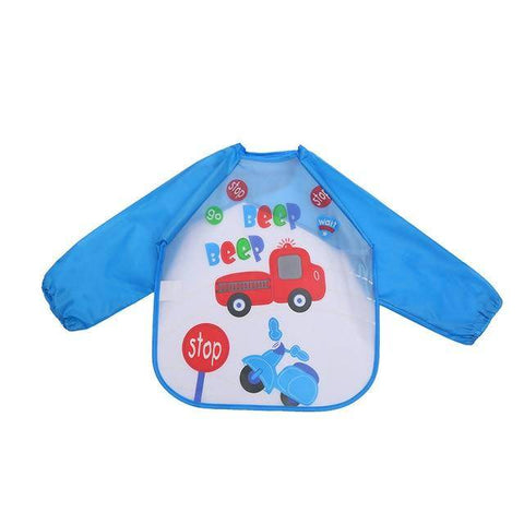 Image of Little Bumper Baby Bibs 15 / United States / 40x36cm Waterproof Colorful Baby Bibs with Full Sleeves
