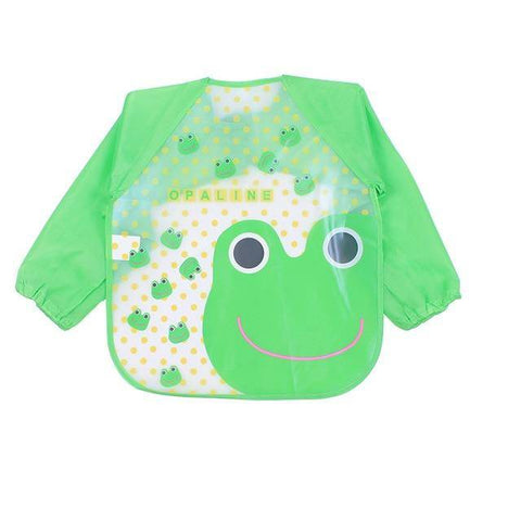 Image of Little Bumper Baby Bibs 16 / United States / 40x36cm Waterproof Colorful Baby Bibs with Full Sleeves