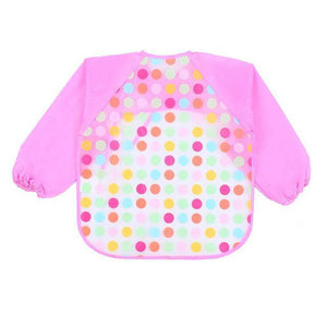 Little Bumper Baby Bibs 17 / United States / 40x36cm Waterproof Colorful Baby Bibs with Full Sleeves