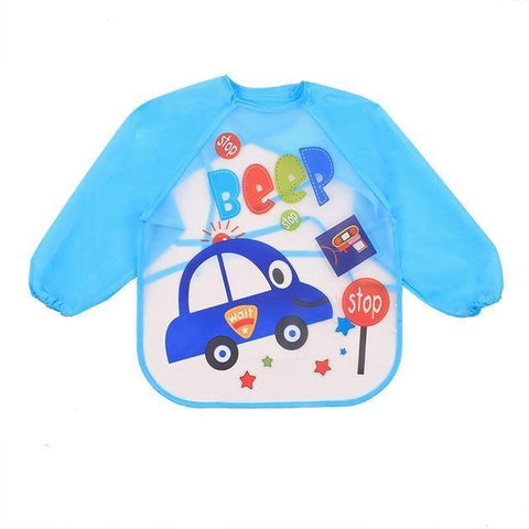 Little Bumper Baby Bibs 18 / United States / 40x36cm Waterproof Colorful Baby Bibs with Full Sleeves