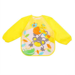 Little Bumper Baby Bibs 19 / United States / 40x36cm Waterproof Colorful Baby Bibs with Full Sleeves