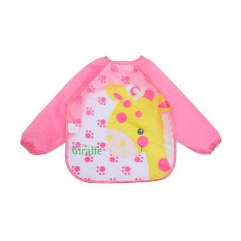 Image of Little Bumper Baby Bibs 2 / United States / 40x36cm Waterproof Colorful Baby Bibs with Full Sleeves