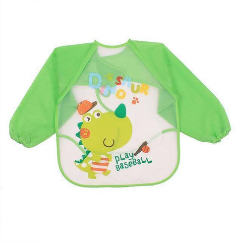 Little Bumper Baby Bibs 20 / United States / 40x36cm Waterproof Colorful Baby Bibs with Full Sleeves