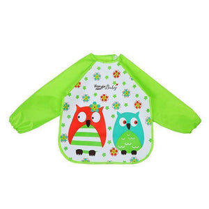 Little Bumper Baby Bibs 21 / United States / 40x36cm Waterproof Colorful Baby Bibs with Full Sleeves