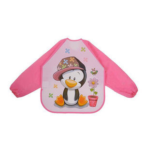 Little Bumper Baby Bibs 22 / United States / 40x36cm Waterproof Colorful Baby Bibs with Full Sleeves
