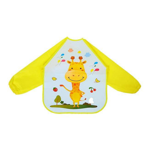 Image of Little Bumper Baby Bibs 23 / United States / 40x36cm Waterproof Colorful Baby Bibs with Full Sleeves