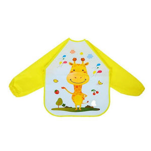 Little Bumper Baby Bibs 23 / United States / 40x36cm Waterproof Colorful Baby Bibs with Full Sleeves