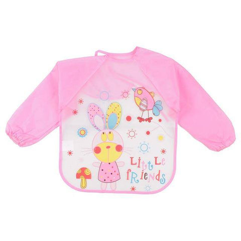 Image of Little Bumper Baby Bibs 24 / United States / 40x36cm Waterproof Colorful Baby Bibs with Full Sleeves