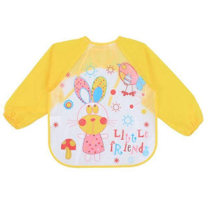 Little Bumper Baby Bibs 4 / United States / 40x36cm Waterproof Colorful Baby Bibs with Full Sleeves